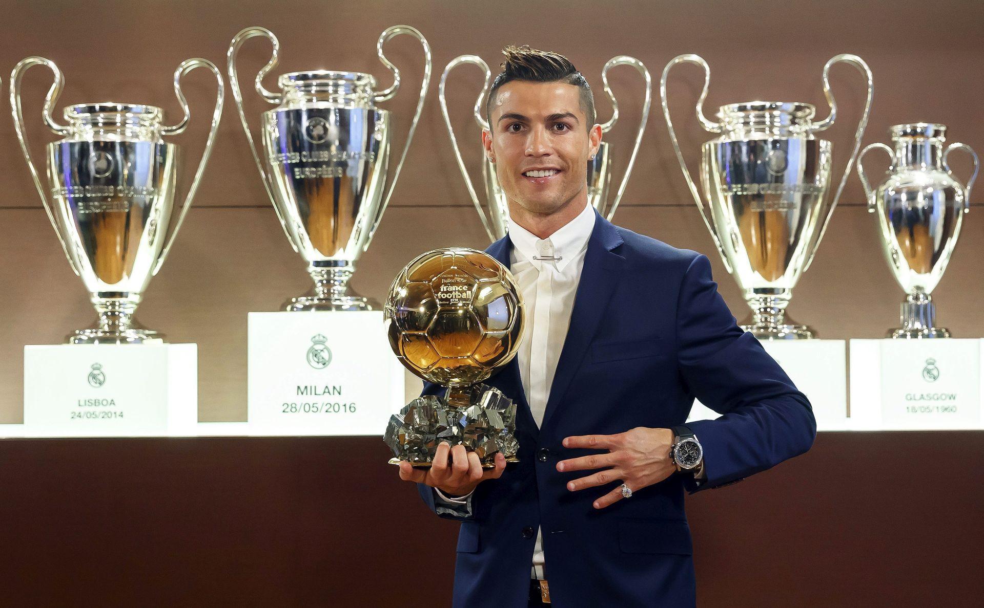 ČETVRTI PUT U KARIJERI: Ronaldo dobitnik Zlatne lopte