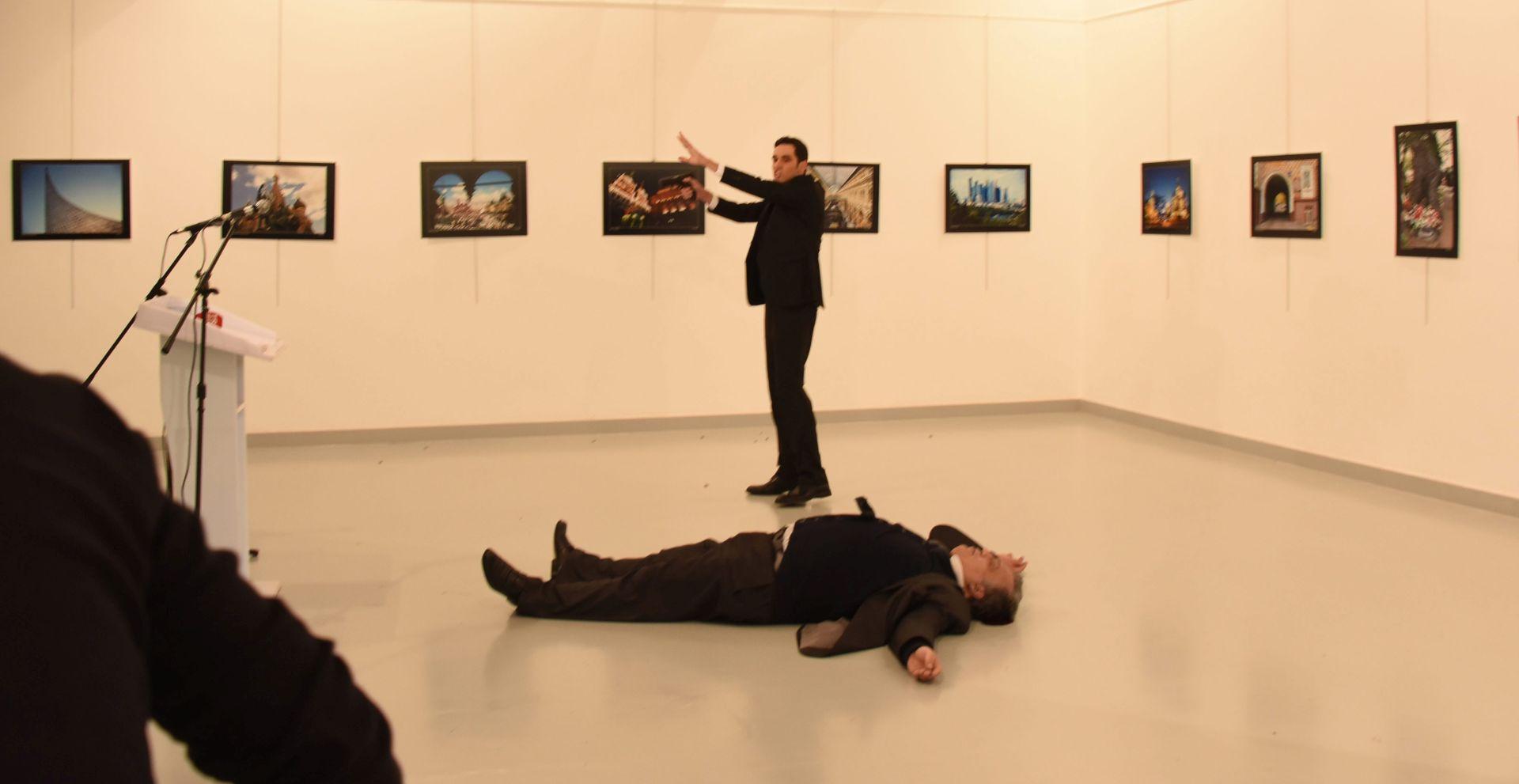 UBOJSTVO VELEPOSLANIKA: Ubojica štitio Erdogana u osam navrata