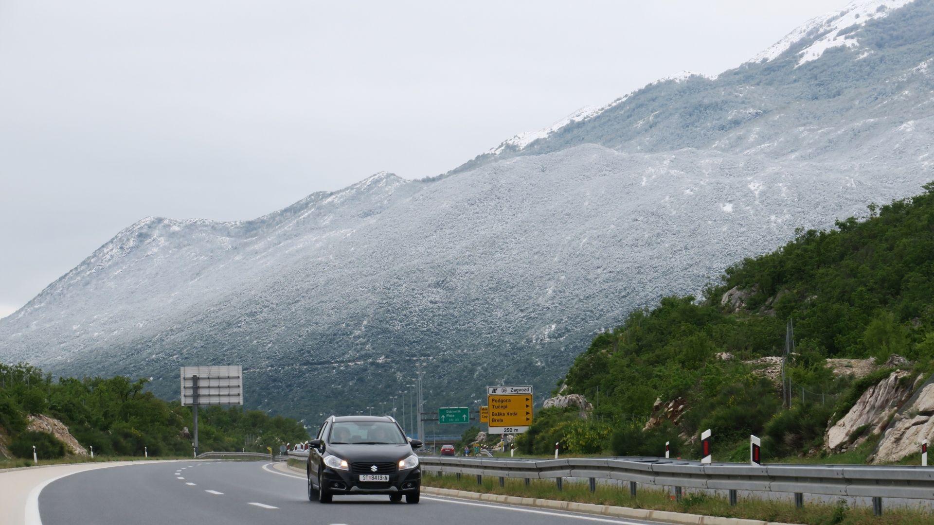 VRIJEME: Moguća kiša na sjevernom Jadranu, a u gorskim predjelima snijeg