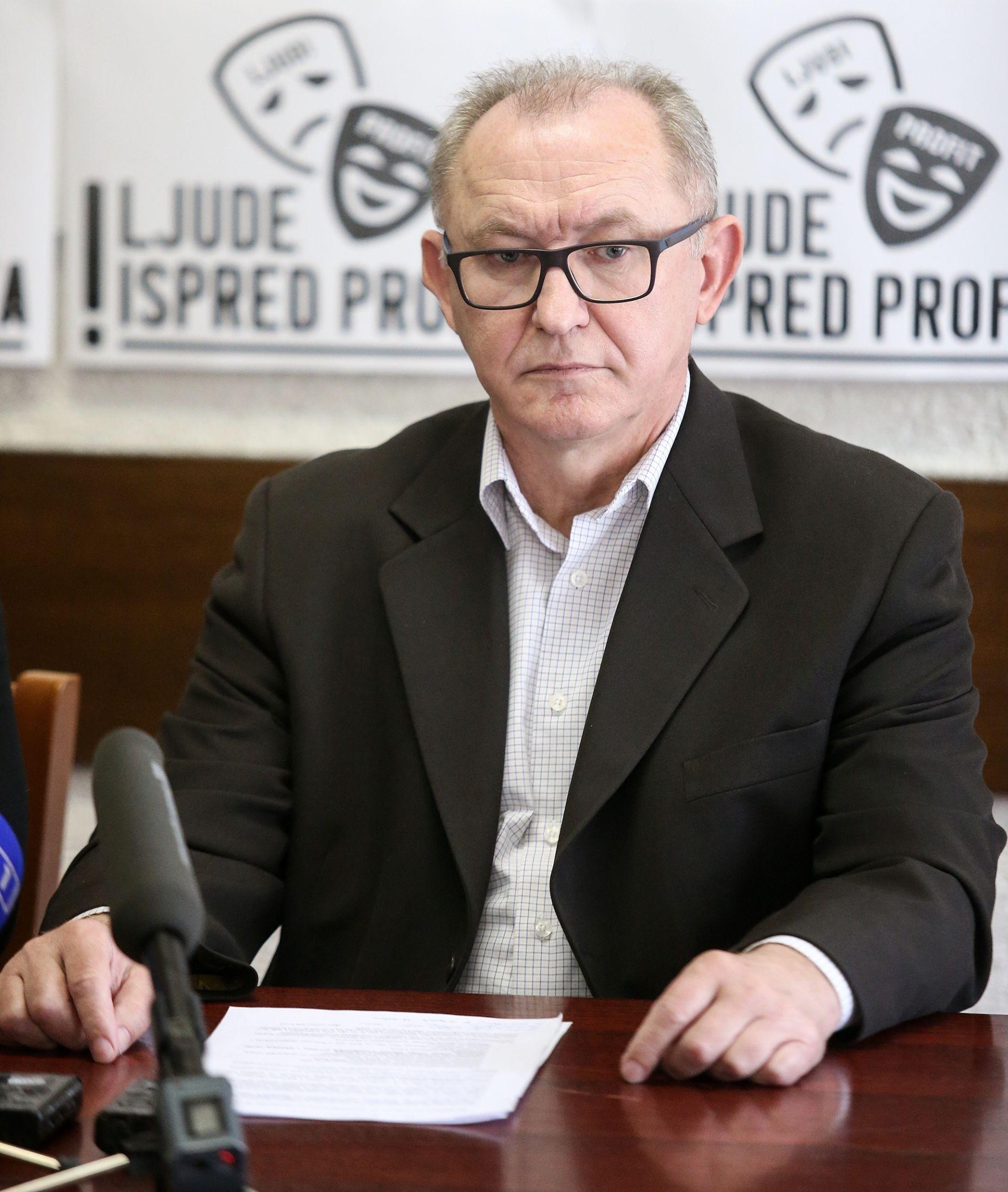 PREGOVORI VLADE I SINDIKATA Topolnjak: 'Nismo dogovorili ništa, osporavaju pravnu valjanost sporazuma'