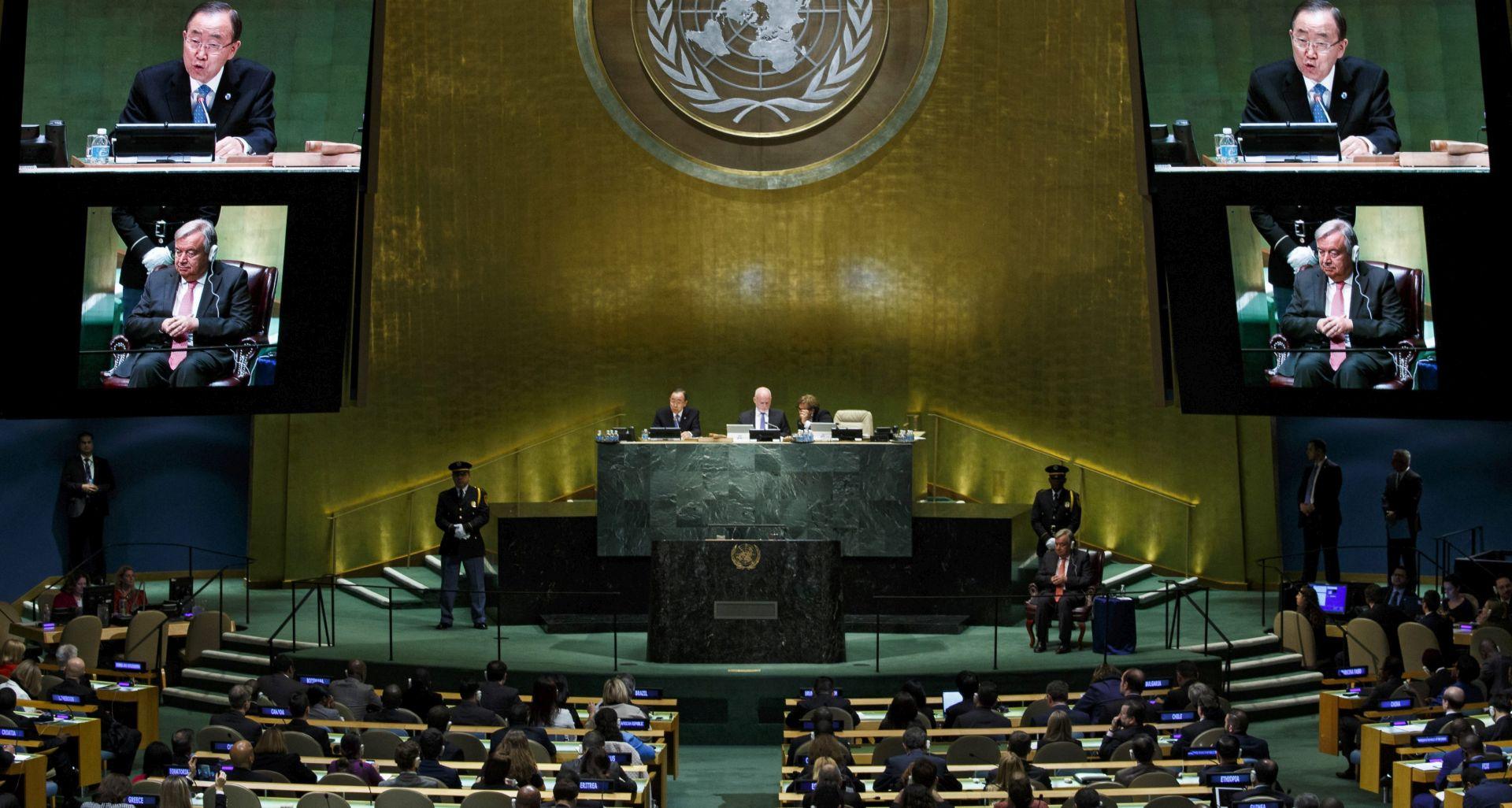 REZOLUCIJA O JERUZALEMU Hrvatska suzdržana na Općoj skupštini UN-a