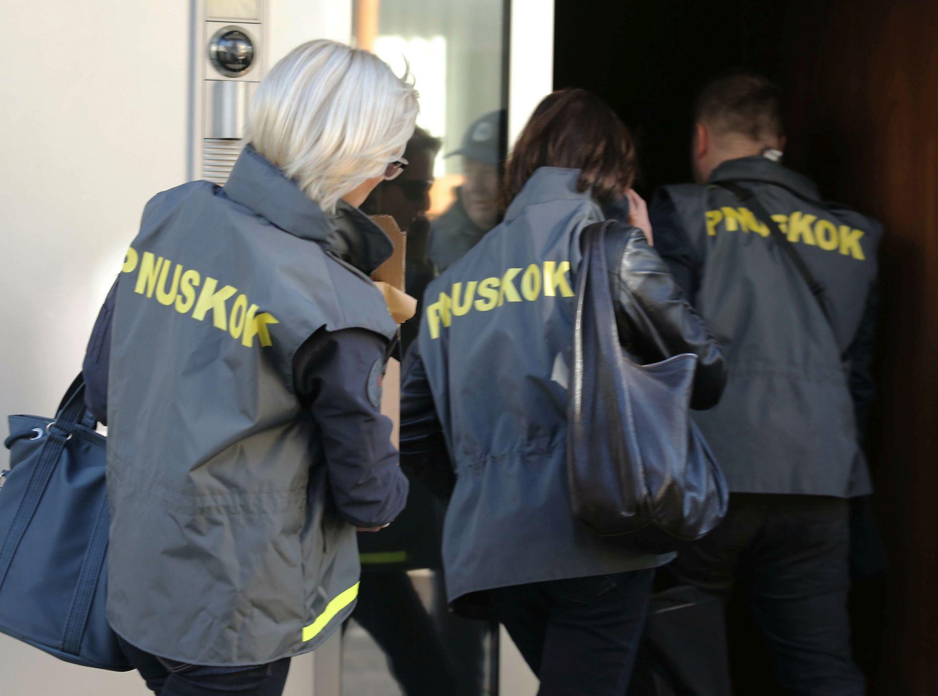 AKCIJA USKOKA: Osumnjičeni za korupciju navodno međusobno podijelili gotovo 50 milijuna kuna
