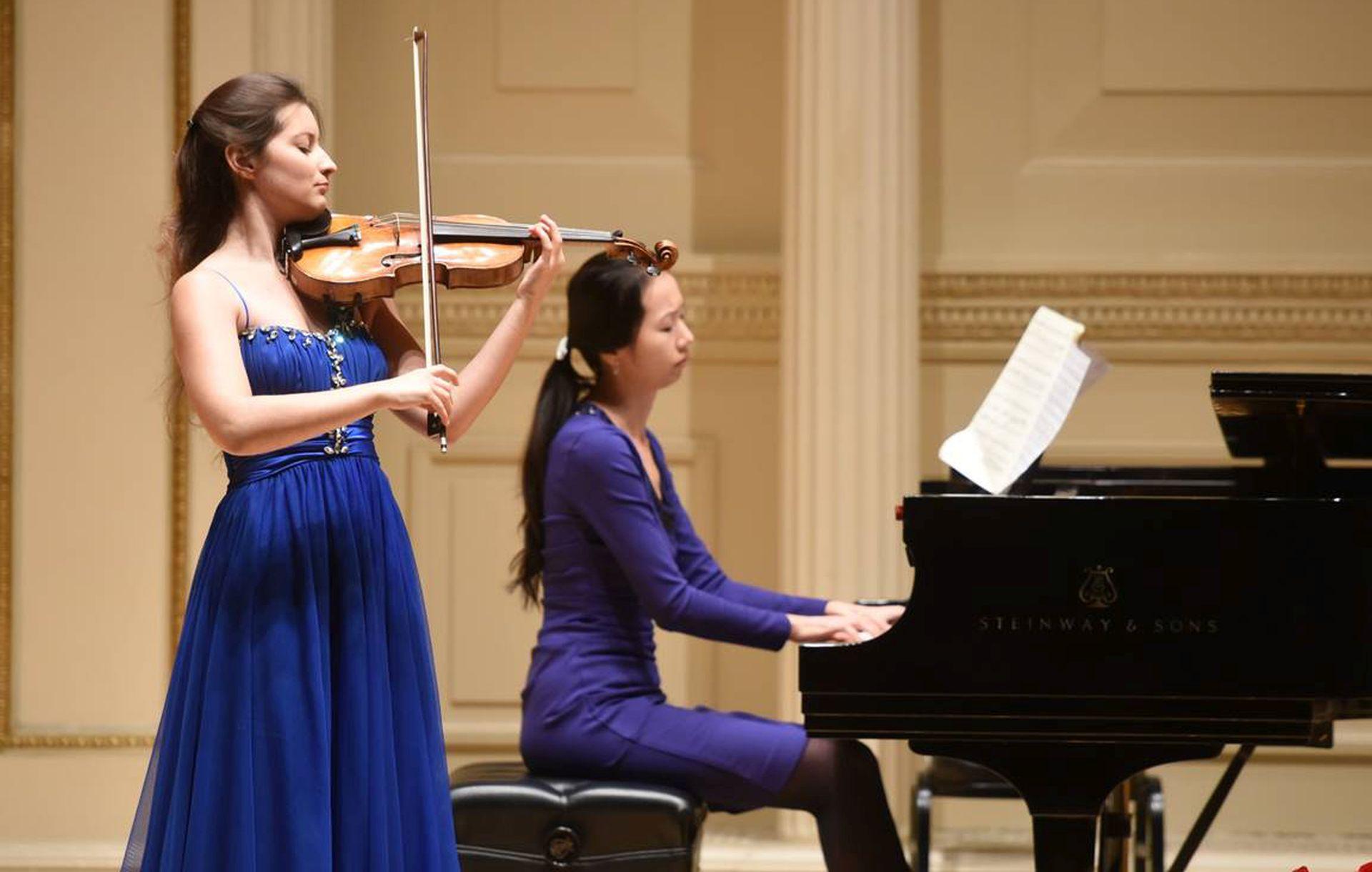 CARNEGIE HALL: Solistički nastup mlade hrvatske violinistice Caroline Blašković