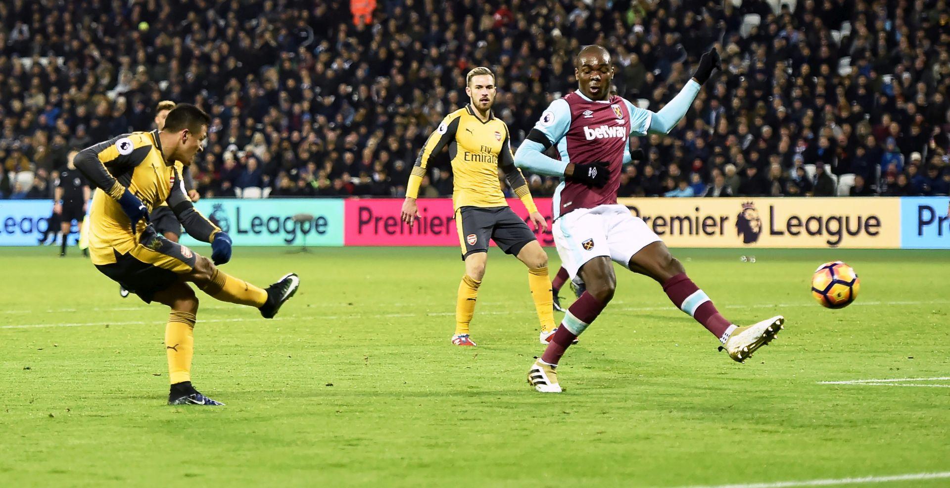 TEŽAK PORAZ: Bilićev West Ham izgubio od Arsenala 1:5