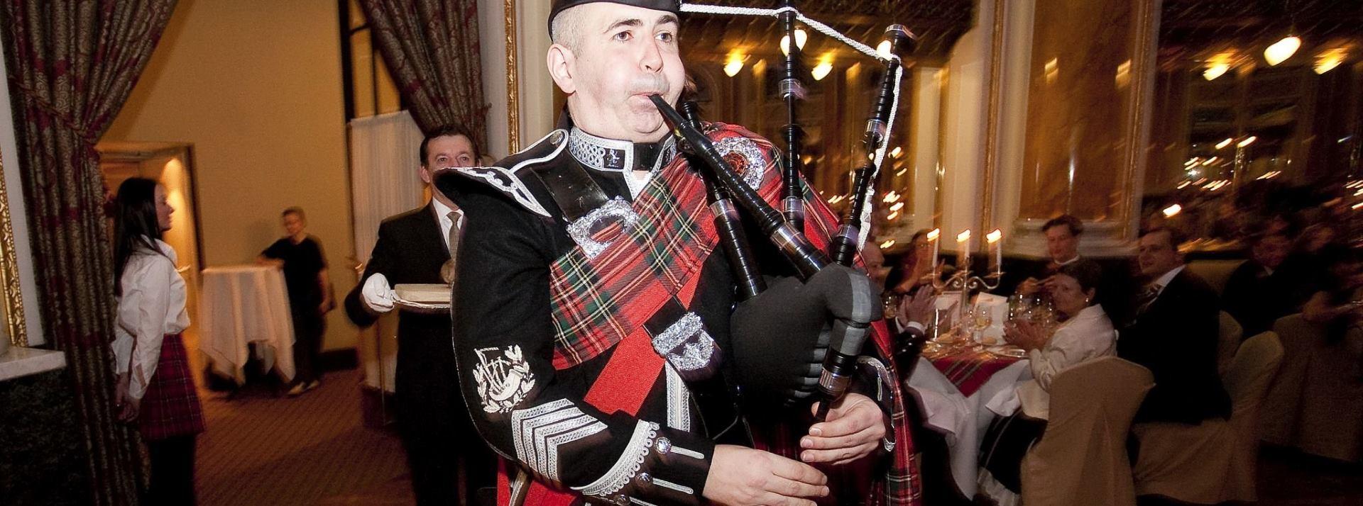 THE FAMOUS BURNS NIGHT Gala svečanost u čast škotskom bardu (28. siječnja)