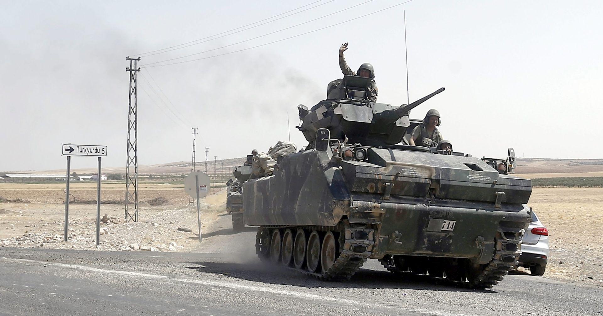 OPERACIJE PROTIV IS-a: Stotine uvježbanih policajaca počele raditi na sjeveru Sirije