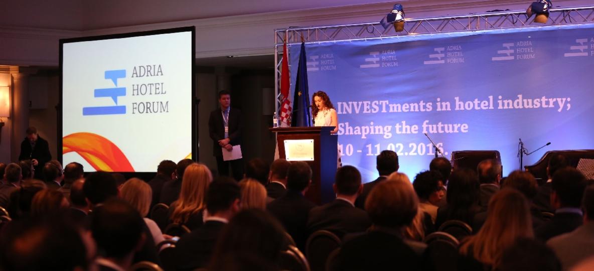 ADRIA HOTEL FORUM Jedna od vodećih europskih hotelsko investicijskih konferencija