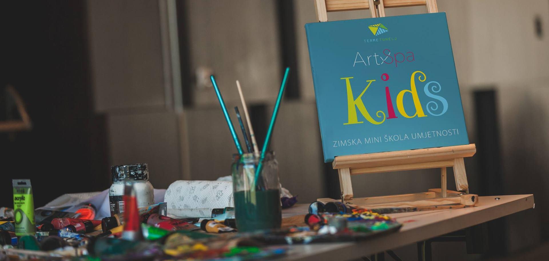 FOTO: Završila prva dječja Art&Spa škola u Termama Tuhelj