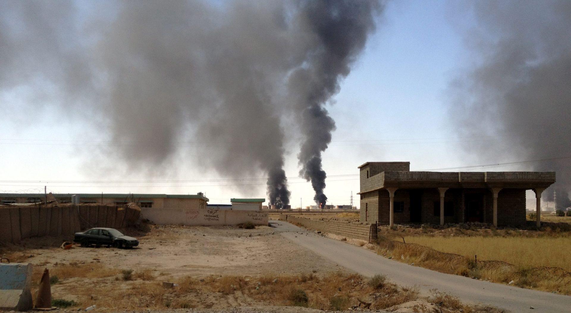 IS preuzeo odgovornost za uništenje plinske centrale Ine u Hayanu