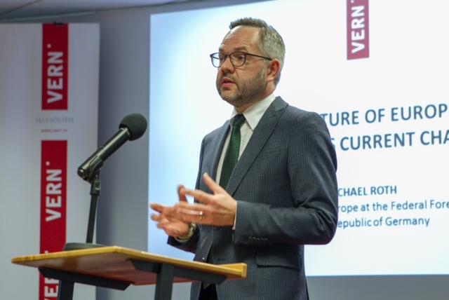 Fwd_ Veleuciliste VERN - Njemacki ministar Michael Roth odrzao izlaganje o izazovima Europe - objava za medije (1)
