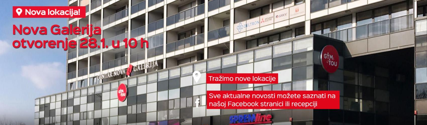 Otvorenje sedme Gyms4you teretane u Republici Hrvatskoj