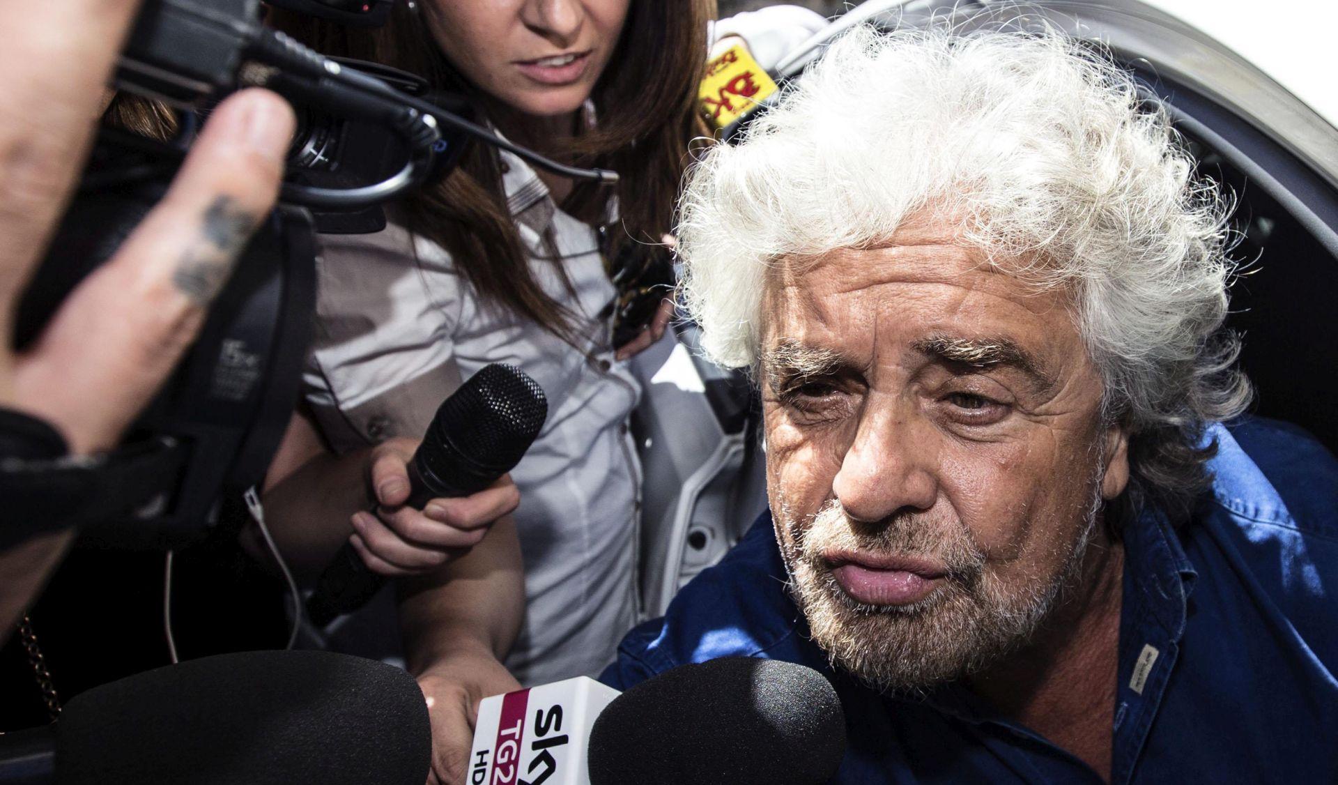 """Grillo Talijanima poručio da moraju imati """"plan B"""" za izlazak iz eurozone"""