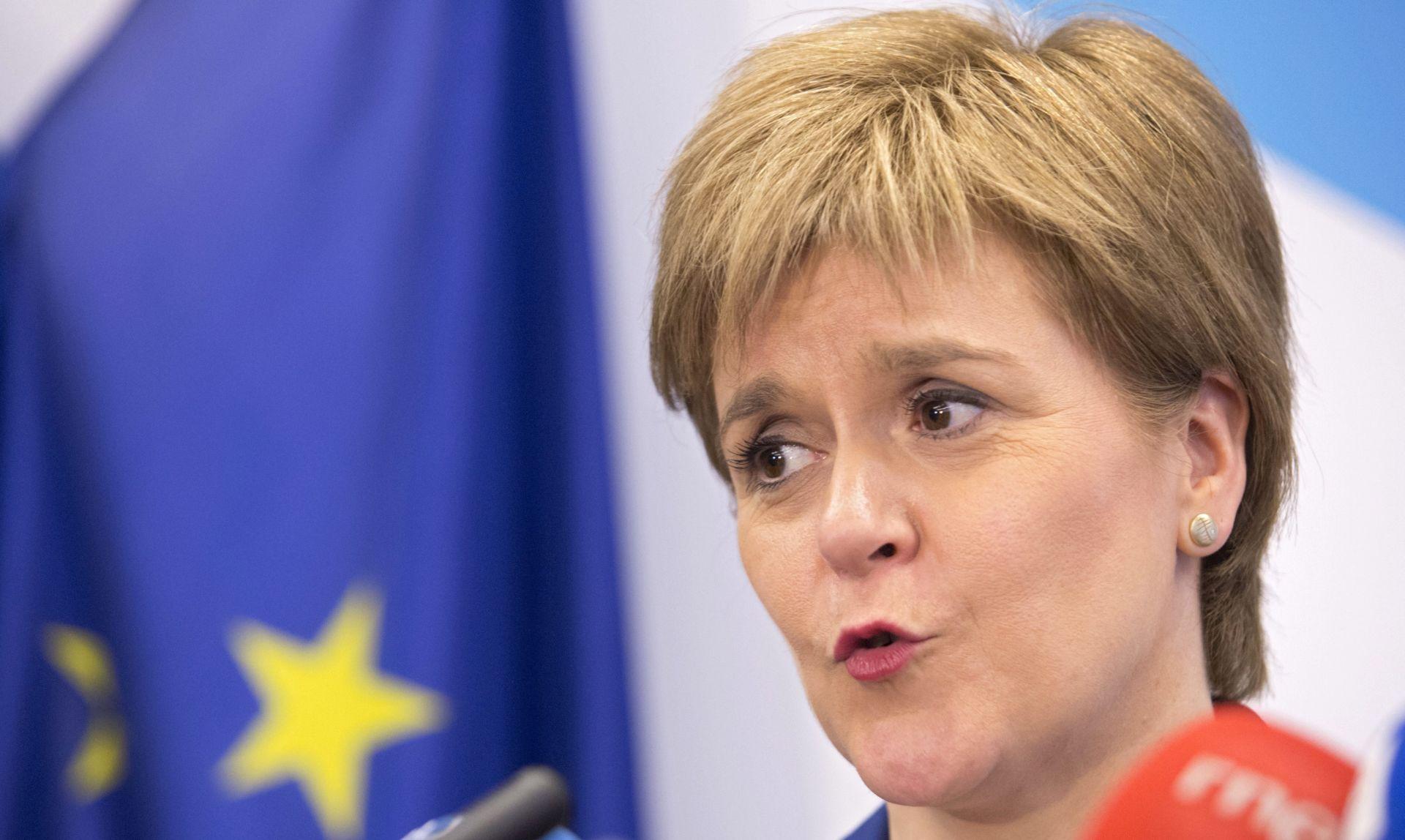 STURGEON Neprihvatljivo je da Škotska nije upućena u plan Brexita