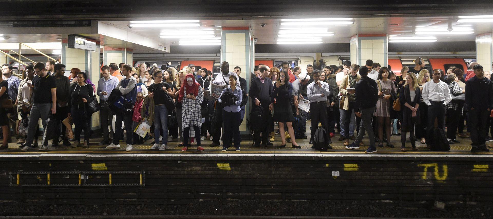 Londonska podzemna željeznica paralizirana štrajkom