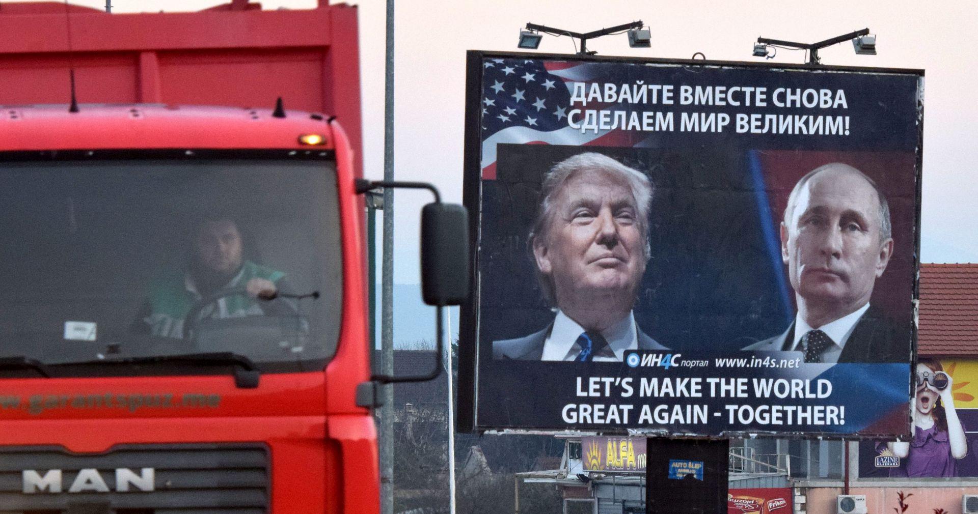 Trumpov i Putinov telefonski razgovor očekuje se u subotu