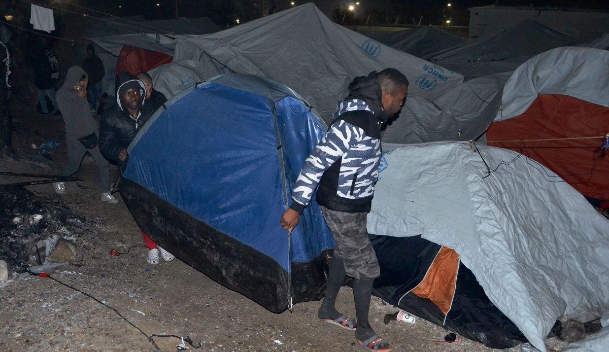 Na Lezbosu ozlijeđeni migranti nakon sukoba s krajnjom desnicom