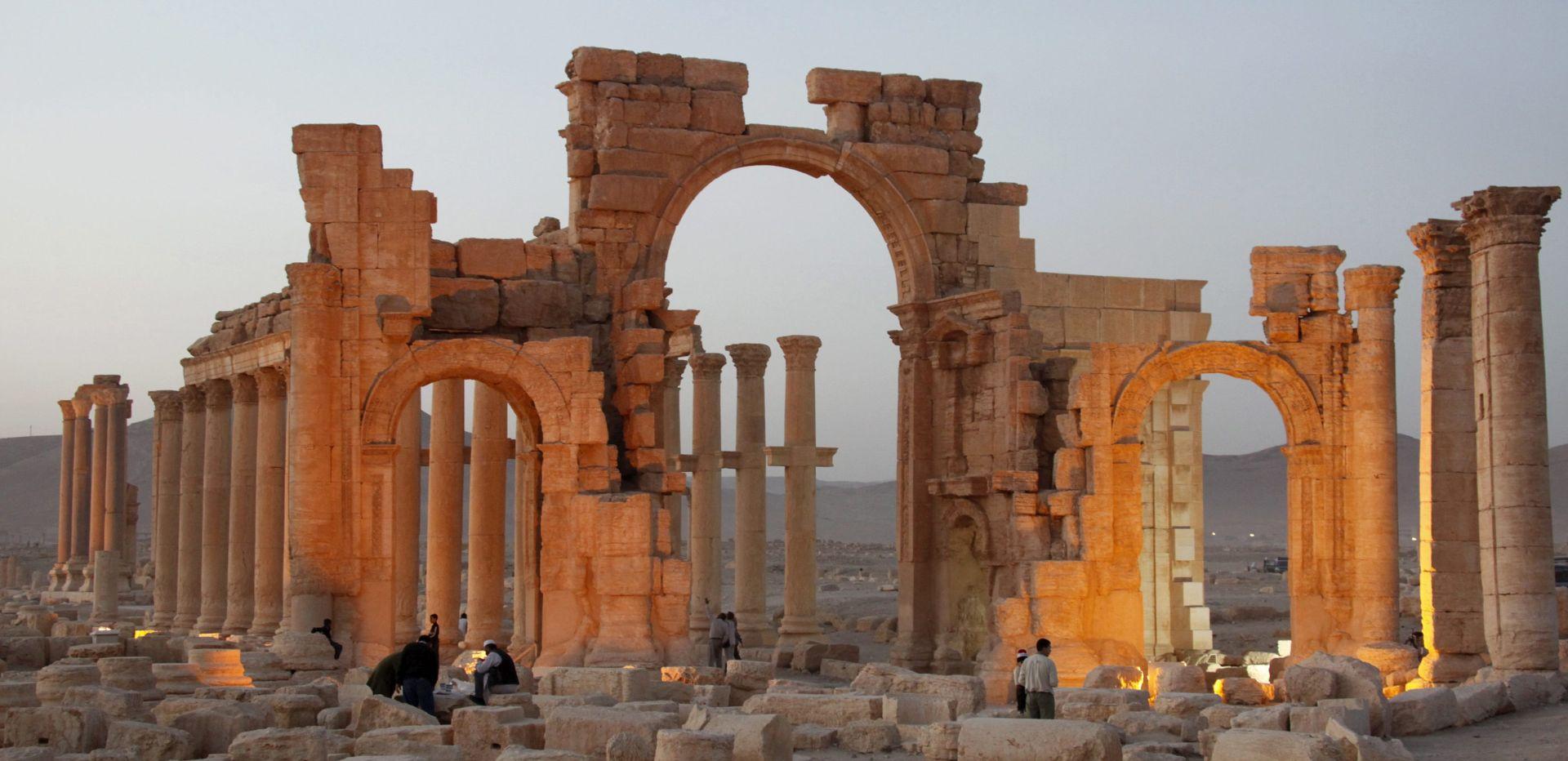 IS uništio arheološko blago u Palmiri