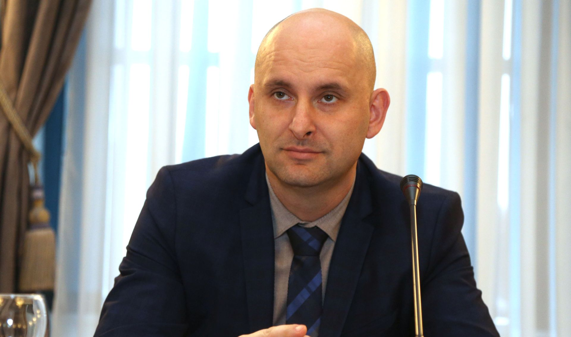 Ministar Tolušić u šibenskom Centru 112