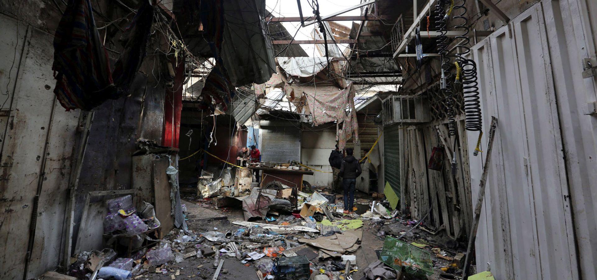 IRAK Samoubilački napad u Bagdadu, 35 mrtvih, IS preuzeo odgovornost