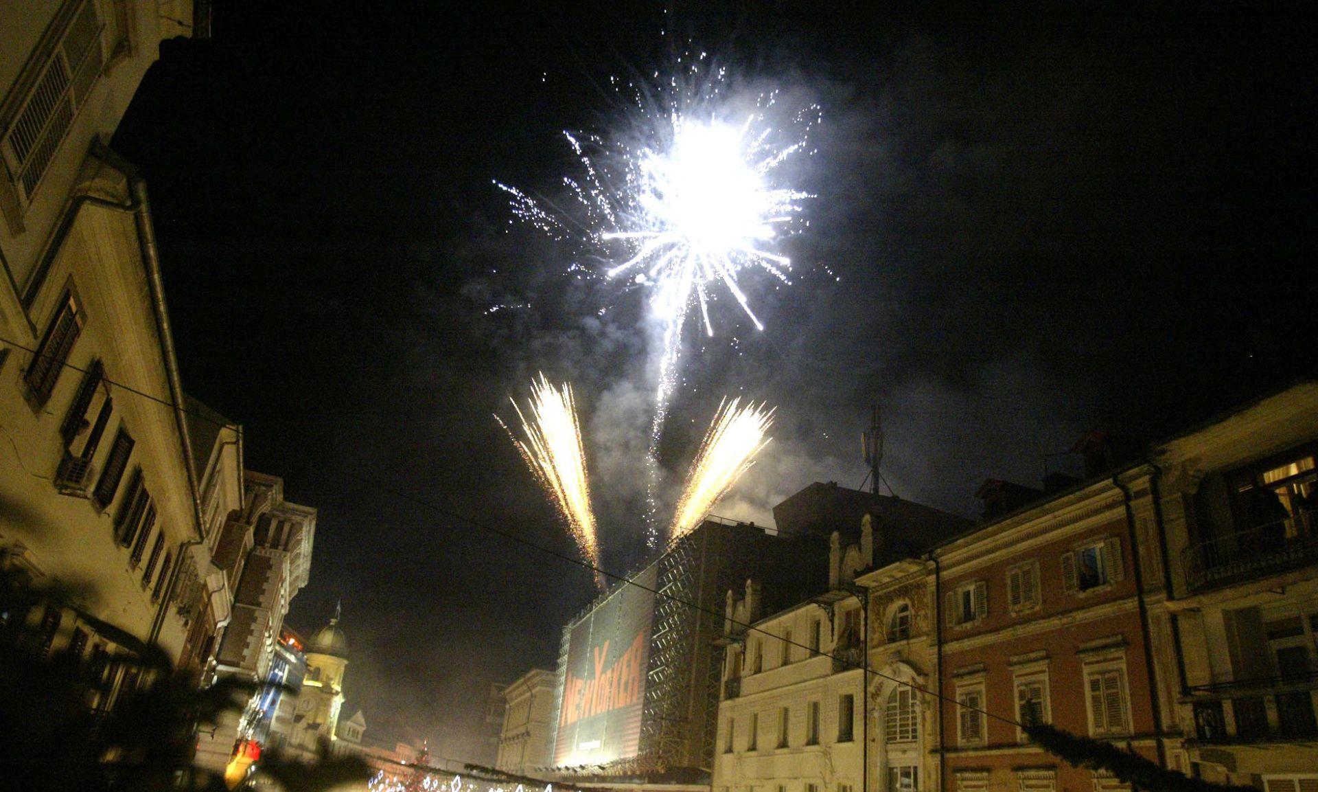 U Hrvatskoj Novu godinu dočekalo 60 tisuća turista