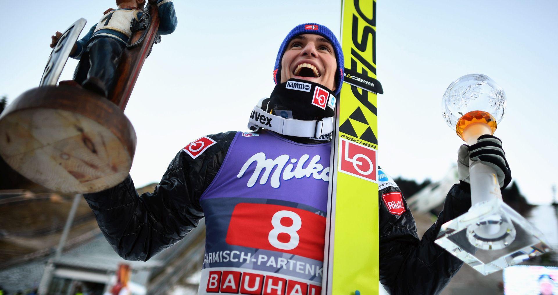 NOVOGODIŠNJA TURNEJA Norvežanin Tande pobjednik u Garmischu