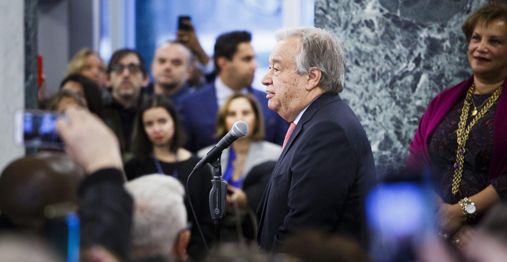Novi glavni tajnik UN-a se zalaže za novi pristup miru