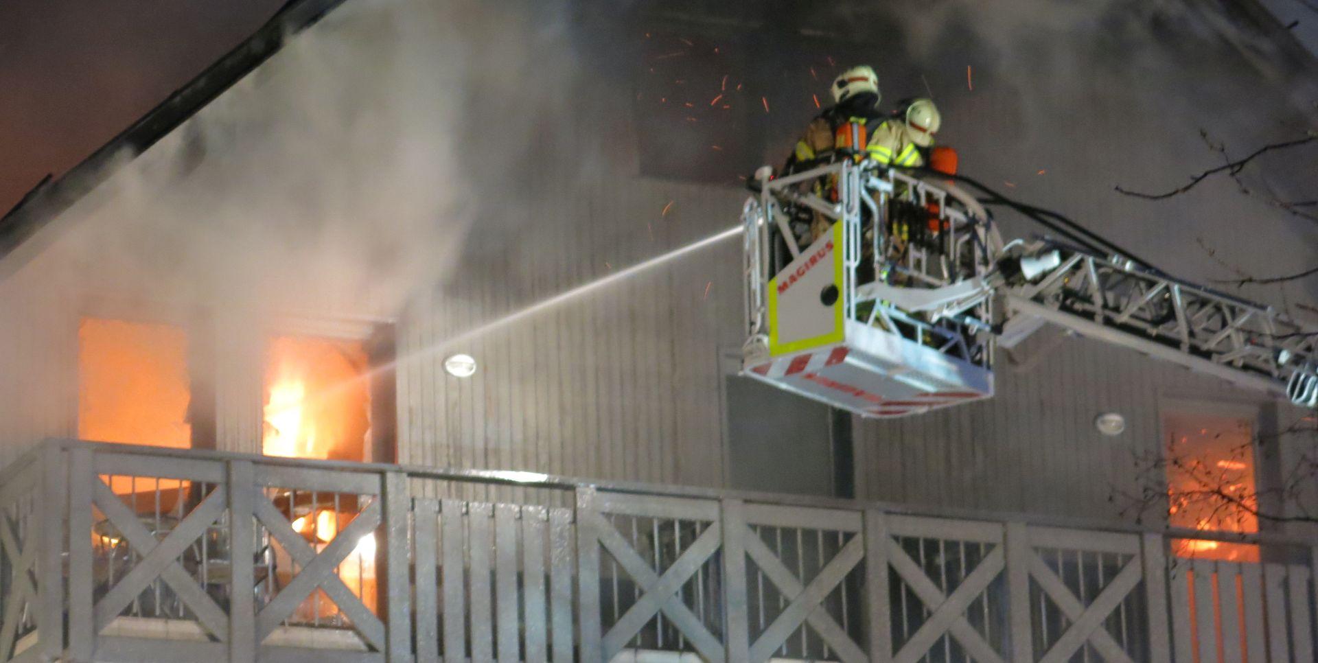 Požar unišio hotel u Bohinju, hrvatski gosti na sigurnom