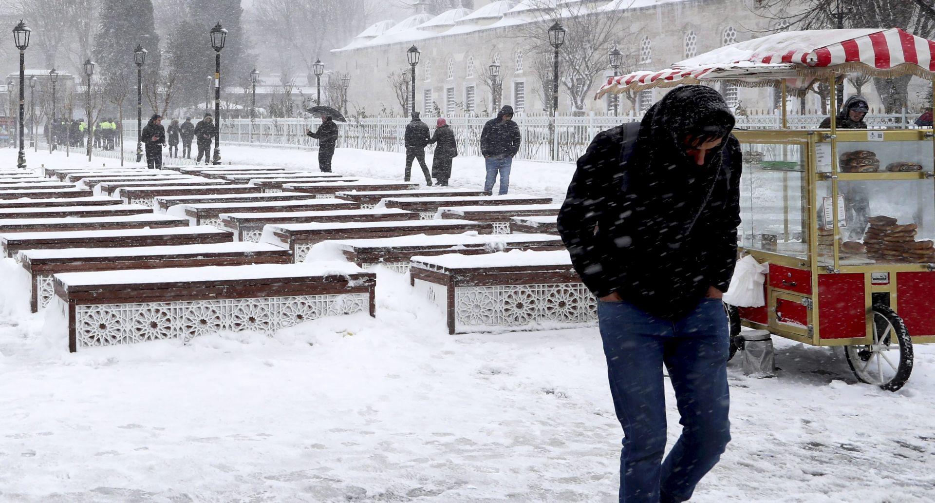 U valu hladnoće u Europi najmanje 48 mrtvih od kraja prošlog tjedna