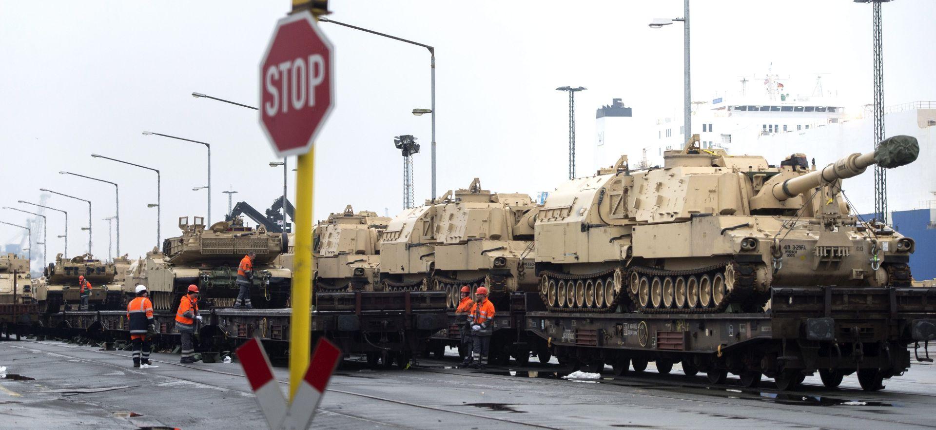 Američka vojska obećala kompleksnije vježbe u Europi kao odgovor na rusku agresiju