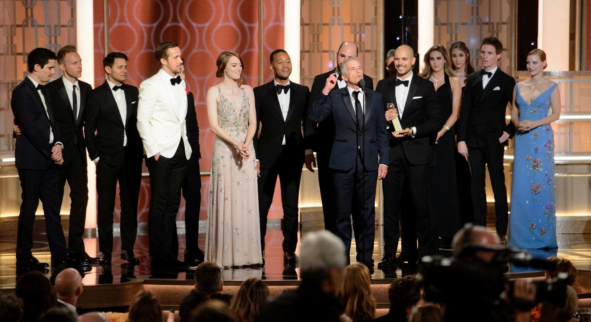 'La La Land' pomeo konkurenciju na Zlatnim globusima