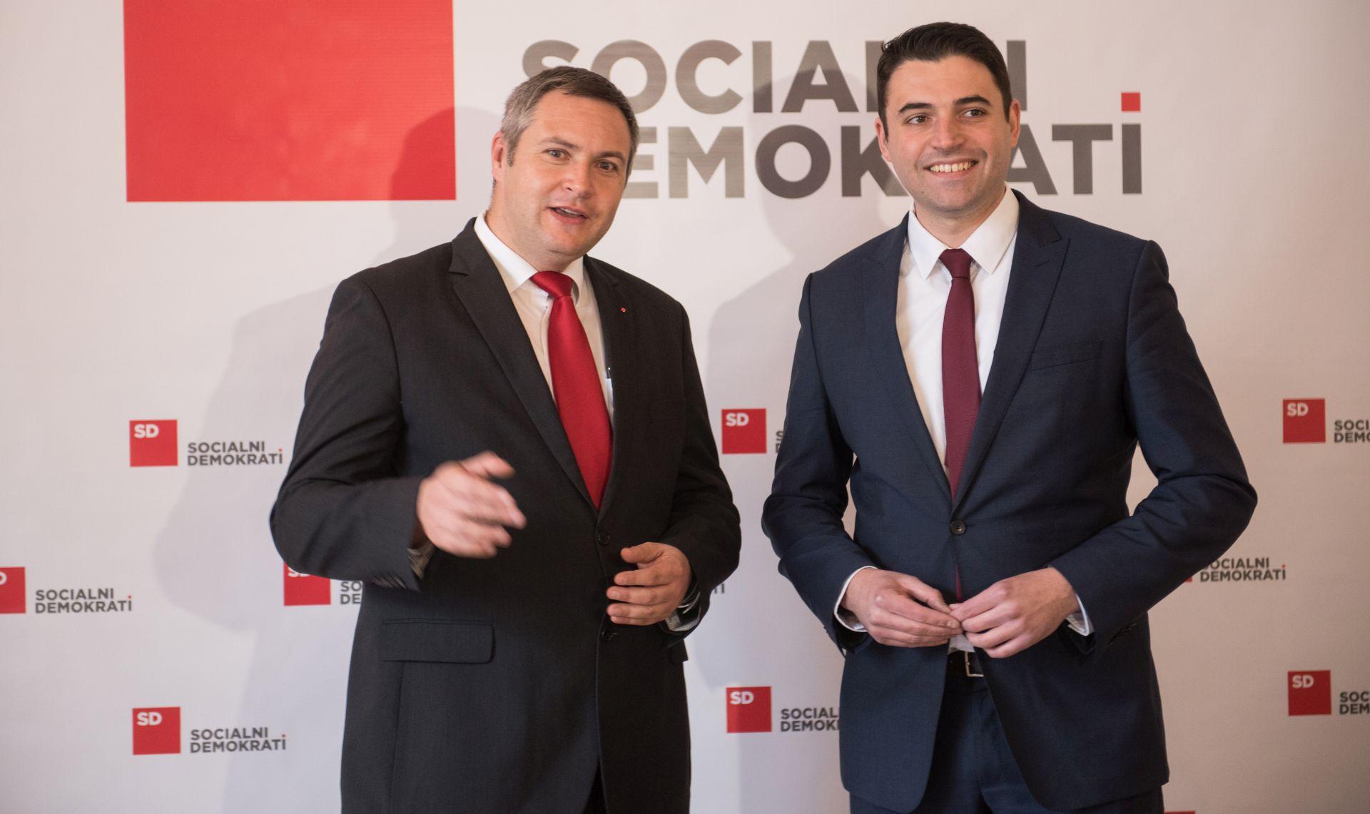 Izaslanstvo SDP-a sa slovenskim socijaldemokratima o pozitivnim aspektima odnosa dviju zemalja