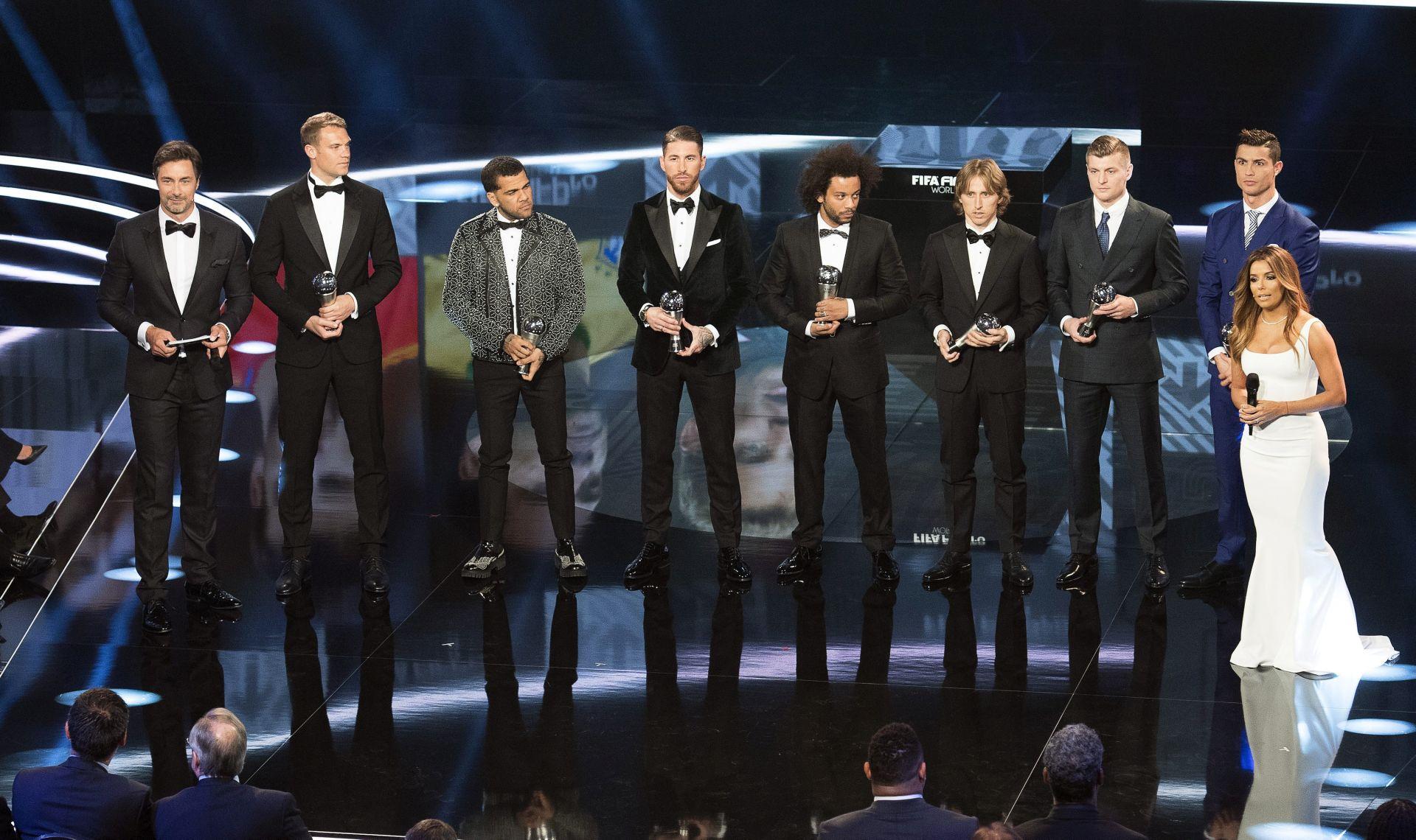 FIFA Cristiano Ronaldo najbolji, a Luka Modrić u momčadi godine