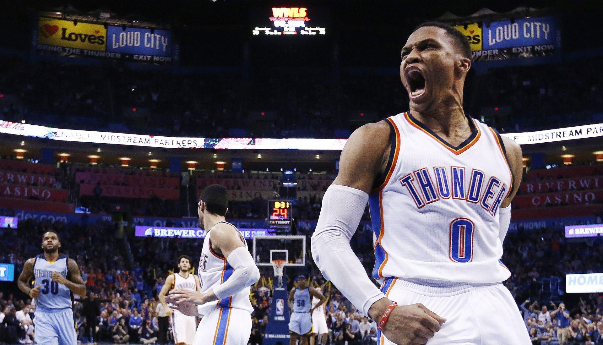 NBA Westbrook nezaustavljiv