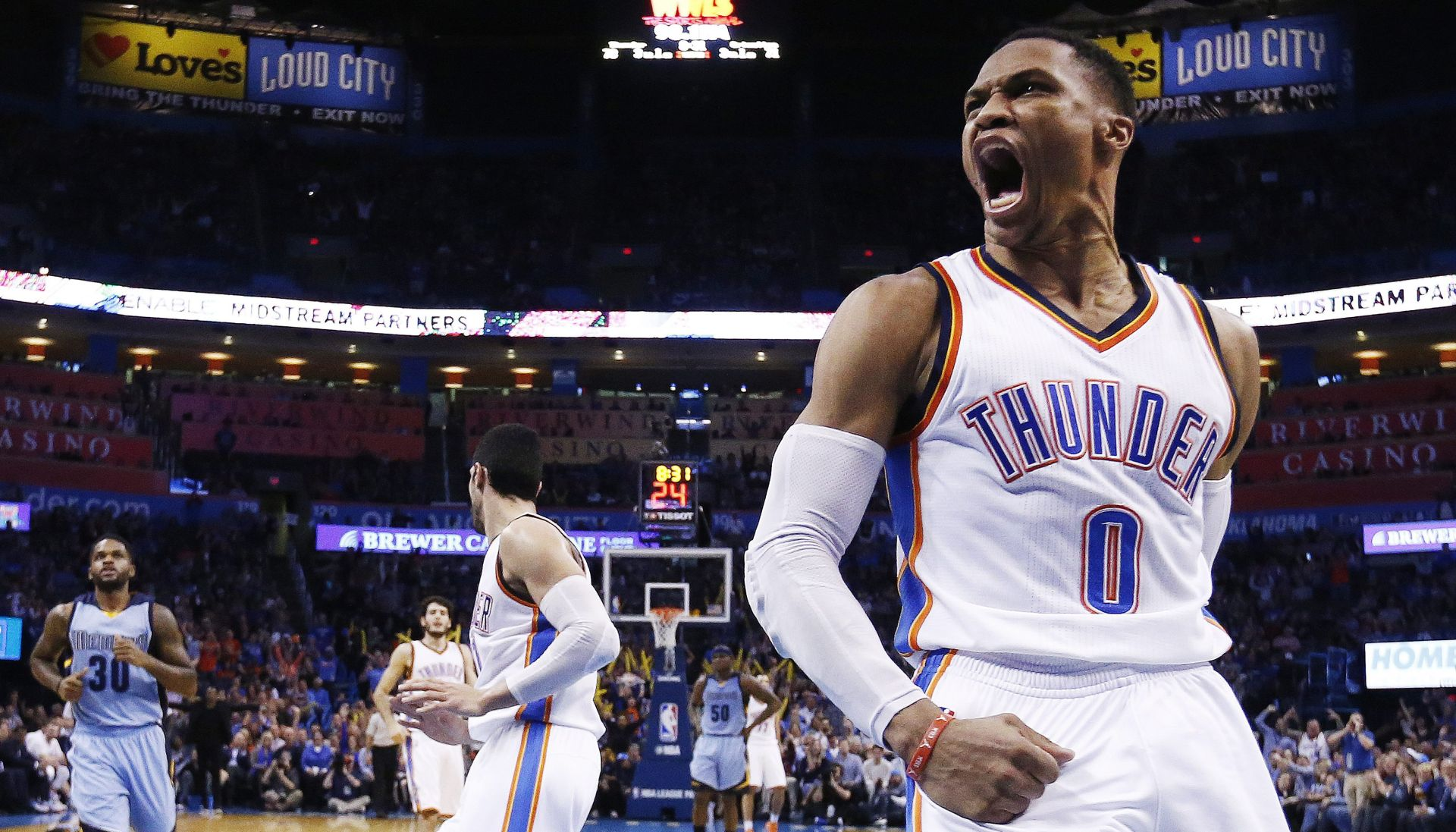 NBA Westbrook izabran među rezerve za 'All Star' utakmicu