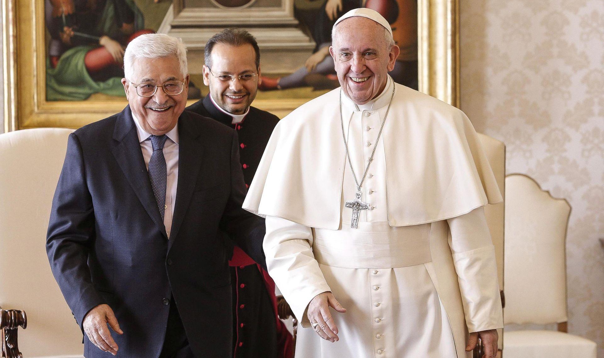 Abas će se susresti s Papom u povodu otvaranja palestinskog predstavništva u Vatikanu