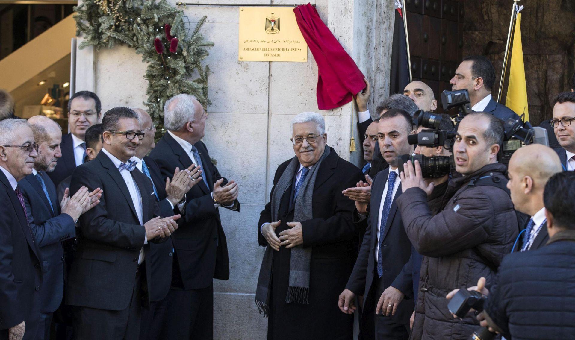 Papa primio Abasa koji je otvorio palestinsko veleposlanstvo u Vatikanu