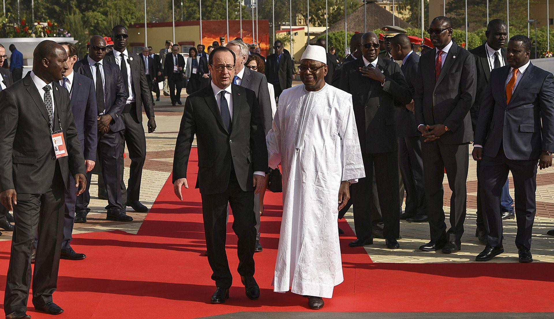 Hollande se u Bamaku oprostio od Afrike