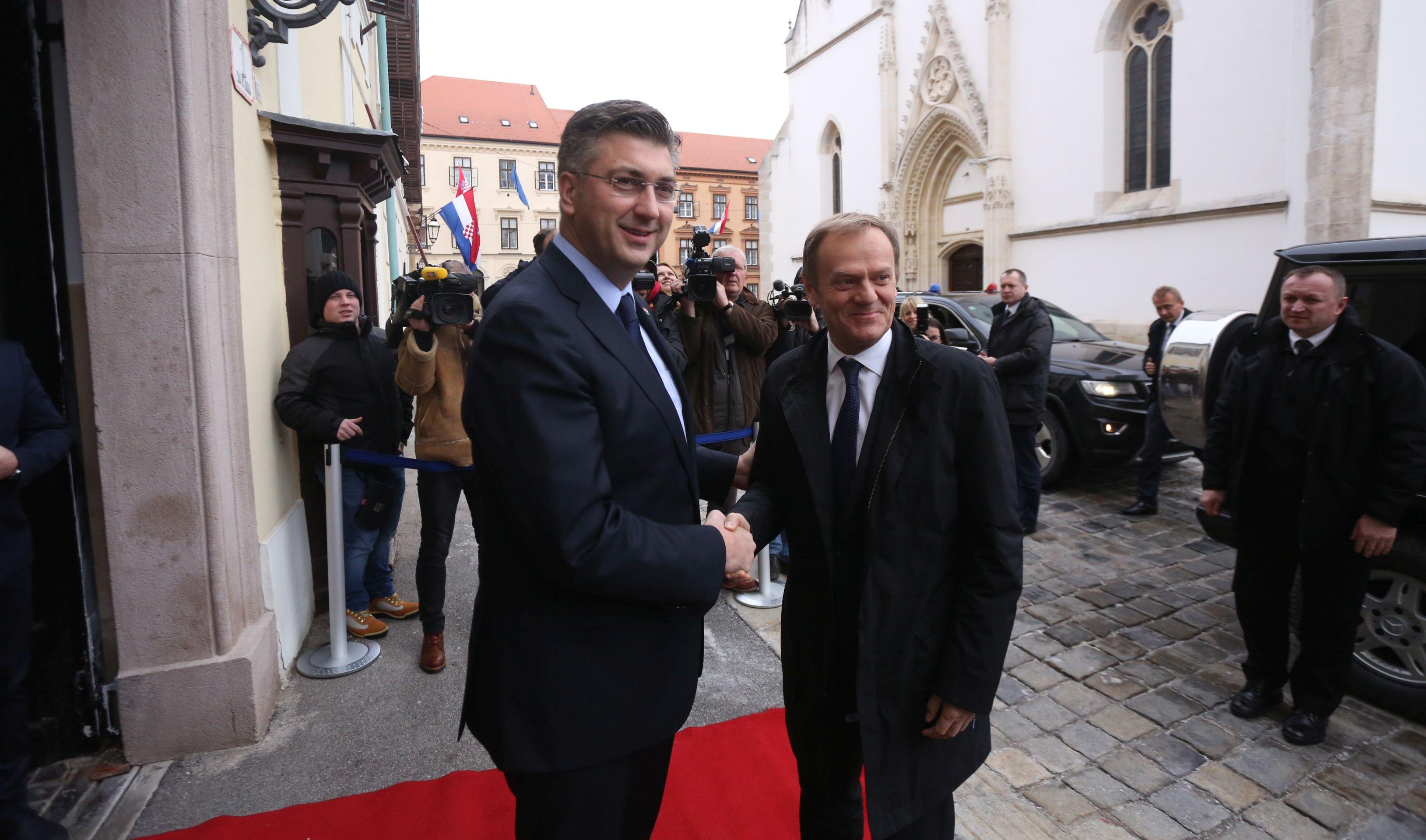 Tusk kaže da je Hrvatska u 25 godina ostvarila 'nevjerojatno'
