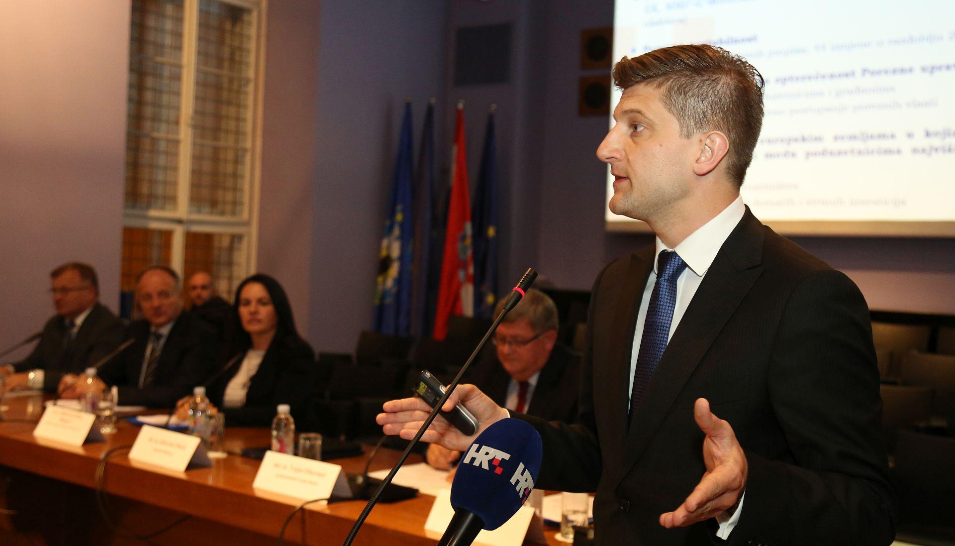 Ministar Marić najavio imenovanje radne skupine za izradu zakona o financiranju lokalne samouprave