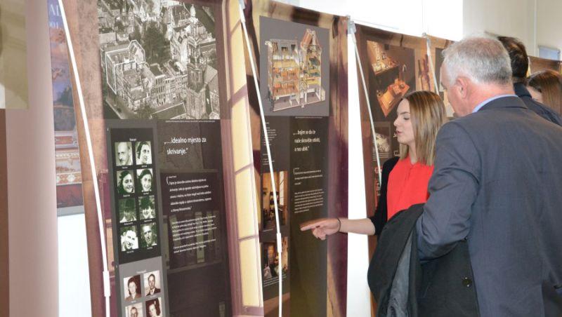 """Izložba """"Anne Frank – povijest za sadašnjost"""" povučena iz Šibenika zbog ustaša i partizana"""