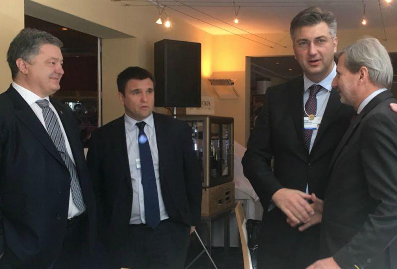 Porošenko rekao kako je Hrvatska vjerodostojan partner Ukrajine
