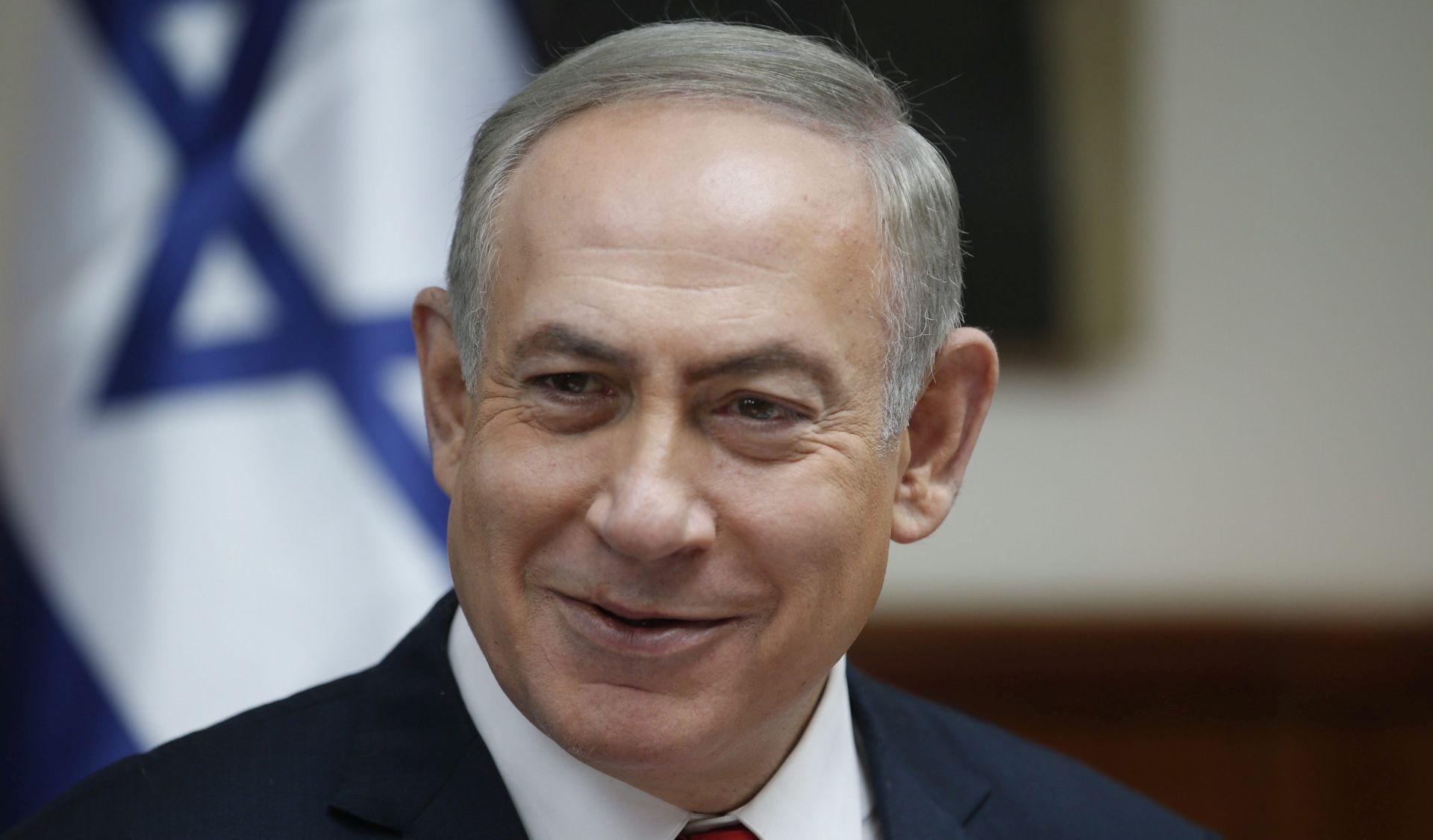 Netanyahu u neprilici zbog podrške Trumpovu zidu