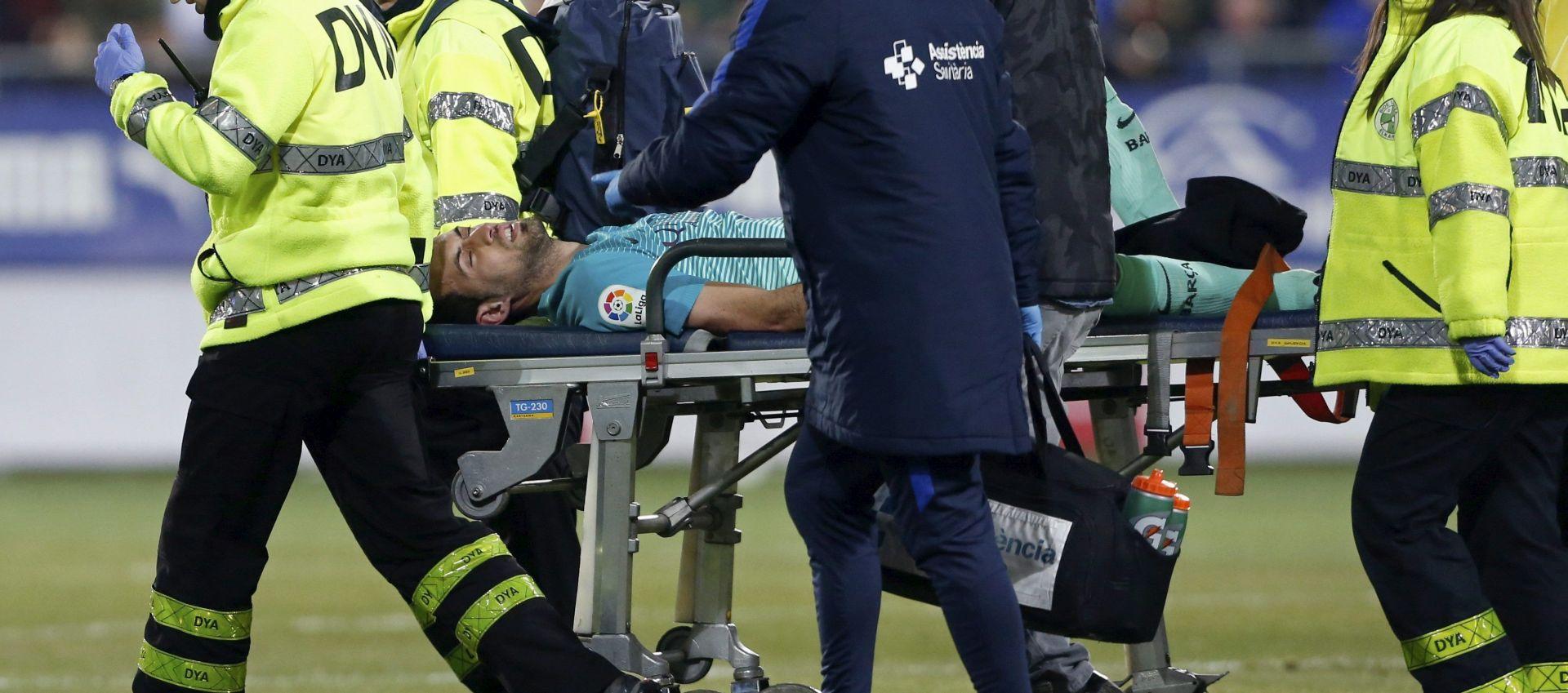 Ozljeda zgloba Busquetsa, ne zna se kada se vraća