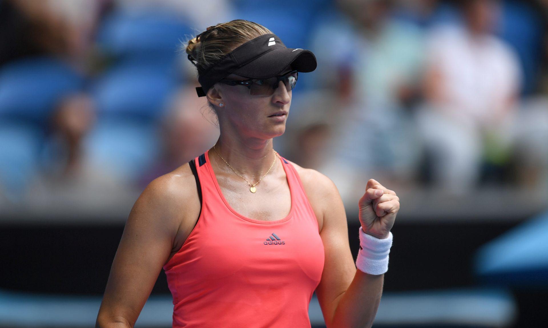 WTA CHARLESTON Mirjana Lučić Baroni u četvrtfinalu