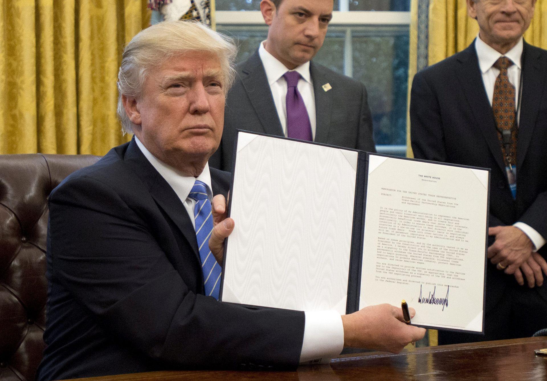 Udruga podnijela tužbu protiv Trumpa za kršenje Ustava