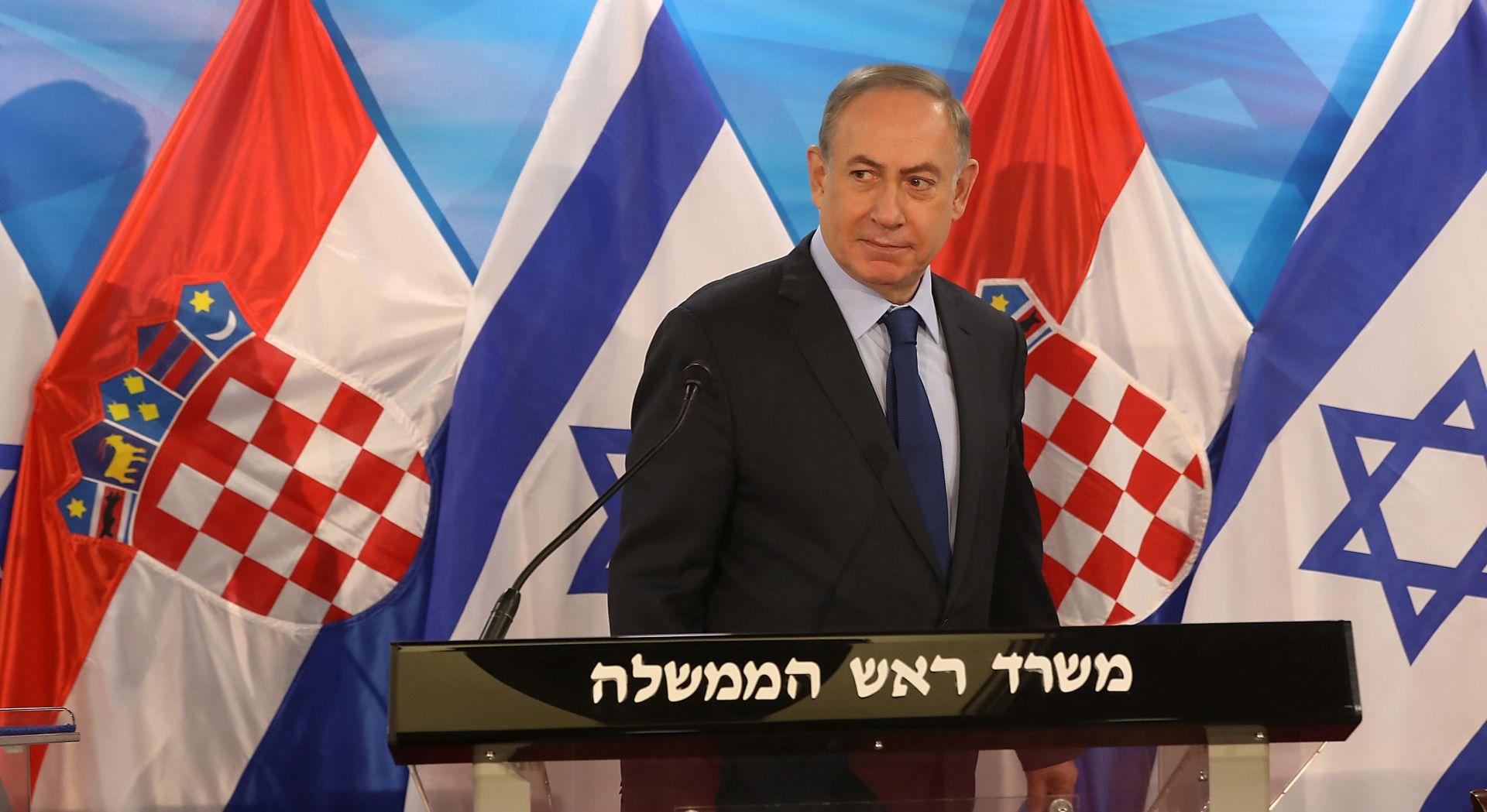 NETANYAHU 'Hrvatska se čvrsto zalaže za Izrael'