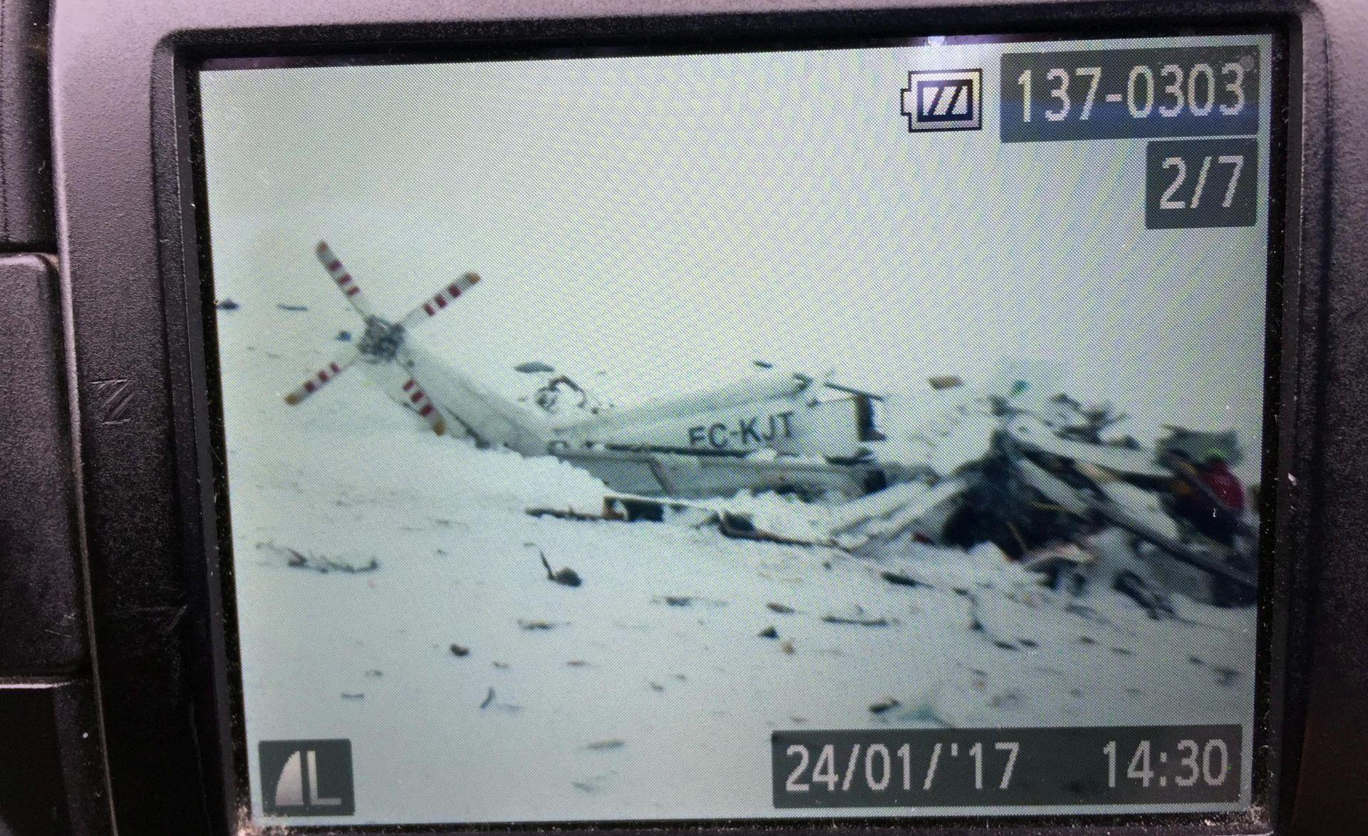 ITALIJA Poginulo svih šest osoba iz srušenog spasilačkog helikoptera