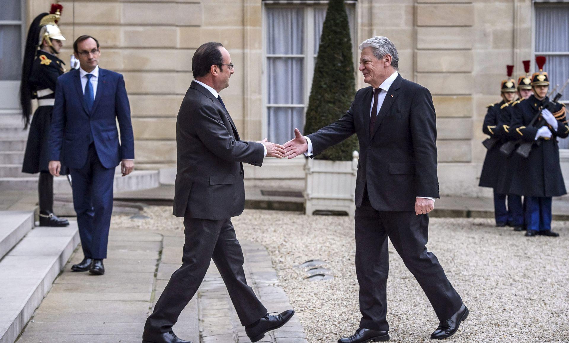 PARIZ Njemački predsjednik Gauck sastao se s Hollandeom