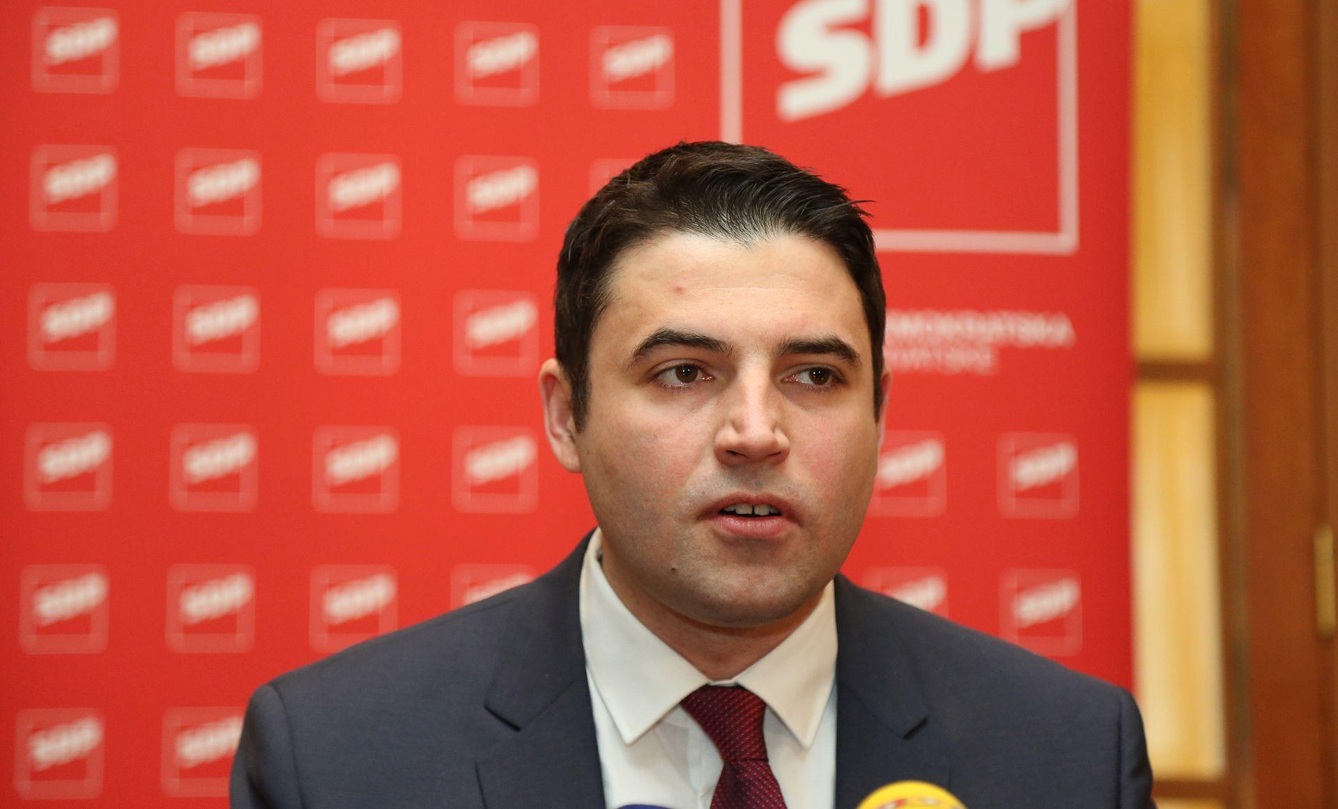 BERNARDIĆ 'U SDP-u sam prvi među jednakima'