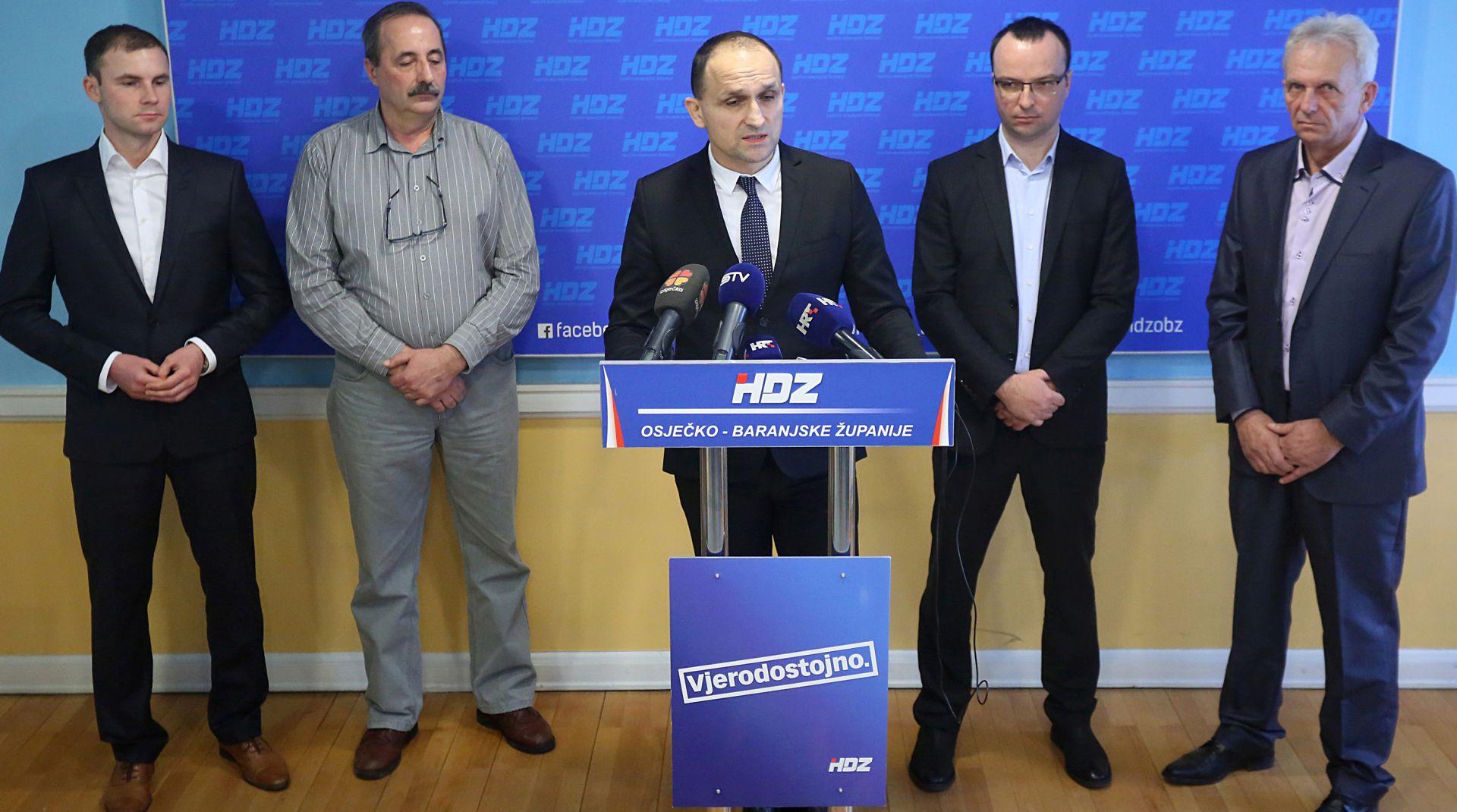 OSIJEK: HDZ-u pristupilo nekoliko bivših članova HDSSB-a